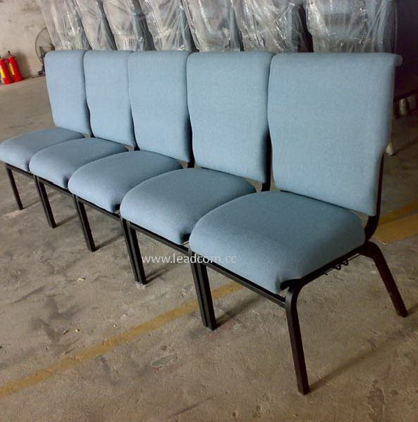 Leadcom Fabric Padded Interlock Stacking Church Chairs For Sale (ls ...