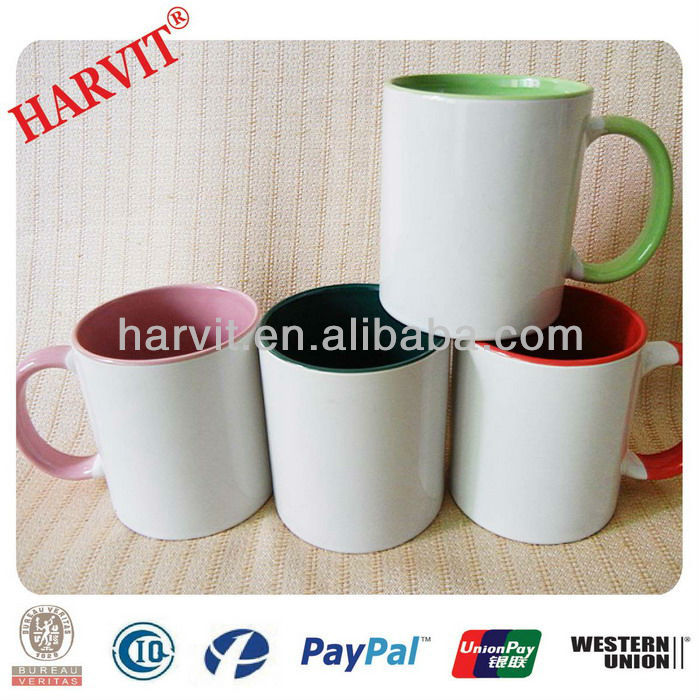 2014 Hot sblimti products blank sublimation items, white sublimation mugs, Professional printing & mug