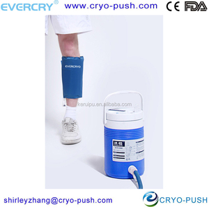 EVERCRYO high quality best selling circulating cold water health equipment /cold therapy system with cooler