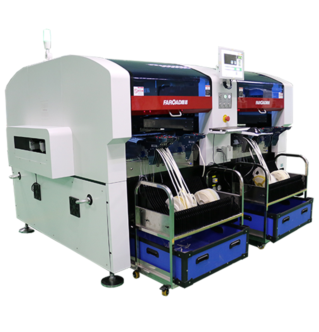Hoge Snelheid SMT Multifunctionele Pick Place Machine Chip Mounter
