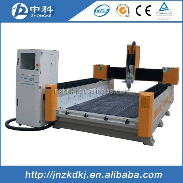 Graniet cnc router carving machine/stone polijstmachine
