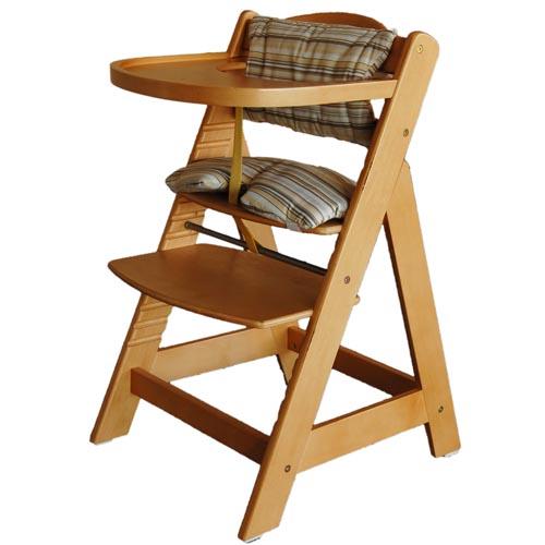 BabyDan DanChair Safety HighChair  Natural Wooden Chair Seat