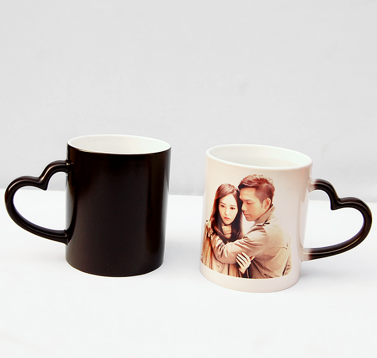 Wholesale plastic double wall mug with your custom color and logo