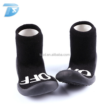breathable rubber sole baby sock shoes soft child sock like shoes