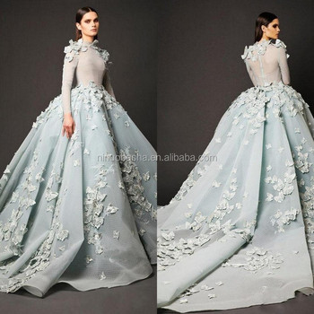 NW1155 New Design Flowers Wedding Dresses Gorgeous Pleats Bridal Ball Gowns Custom Made