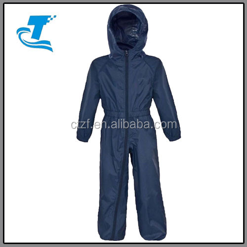 Latest unisex waterproof raincoats toddler polyester rain suit