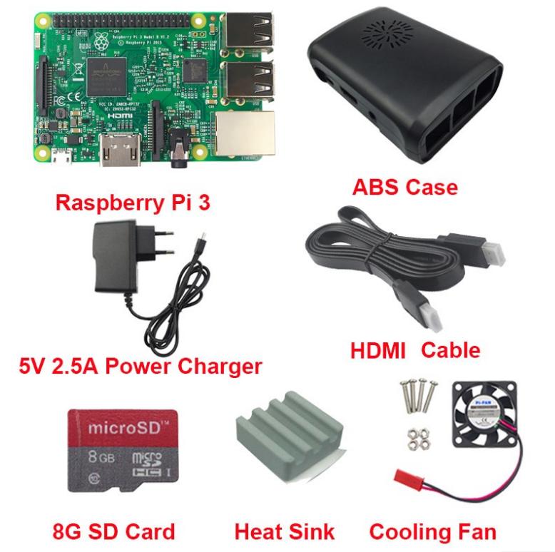 Power Supply 5V 2.5A for 2016 Raspberry Pi 3 Model B