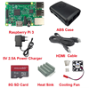 Raspberry Pi 3 Board B starter kit include 5V 2.5A Power Charger/Case/Heat Sink/Cooling Fan/Cable /8G Card