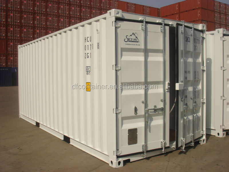 20ft GP /40ft GP /40ft HC ISO Blue Painted dry cargo shipping container