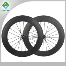 China carbon cyclocross wheel 88mm cheap carbon wheels powerway hub or Novatec hub