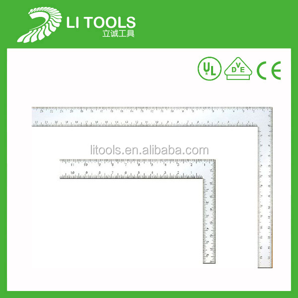 2014 new design top sale metal L Square Angle Ruler