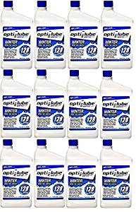 Opti-Lube Winter Formula Diesel Fuel Additive: Quart, Case of 12