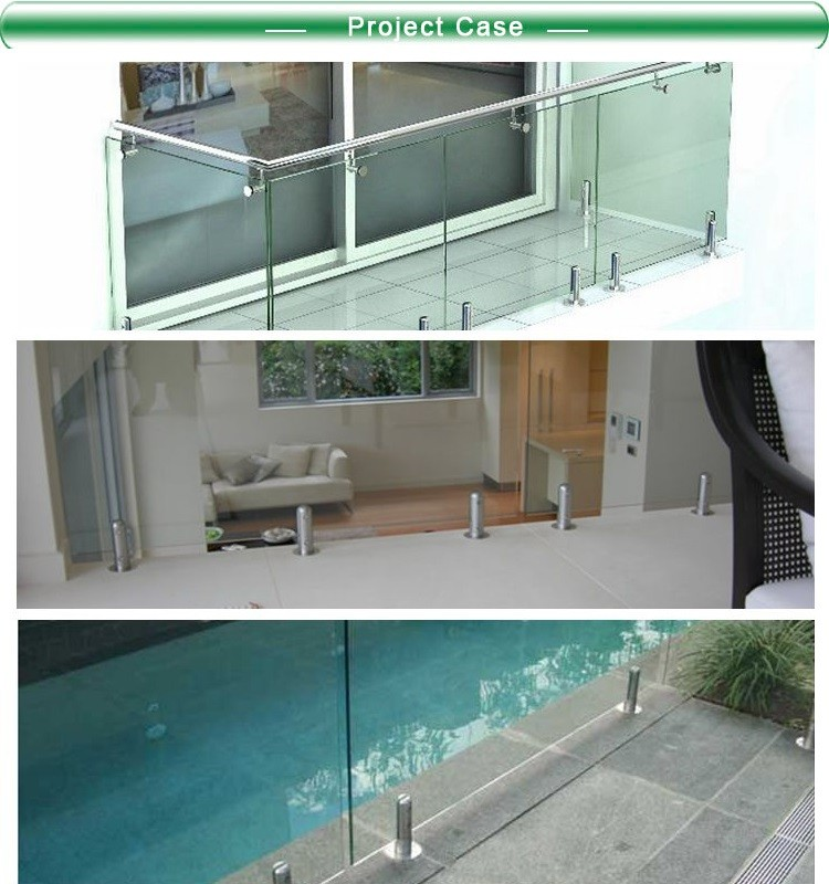 Glass Hardware Fitting Balustrades Spigots For Stainless Steel ...