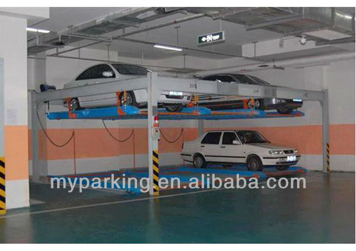 Fully Automatic Smart Card Underground Garage Lift Parking System