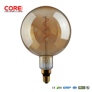 Ningbo CORE Edison Oversized Filament light Helical filament G200 mushroom soak Edison LED Bulb LAMP