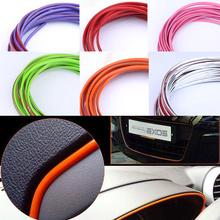 1 meters cute car decoration thread sticker indoor sticker Interior trim strip Car Stickers Decoration Thread