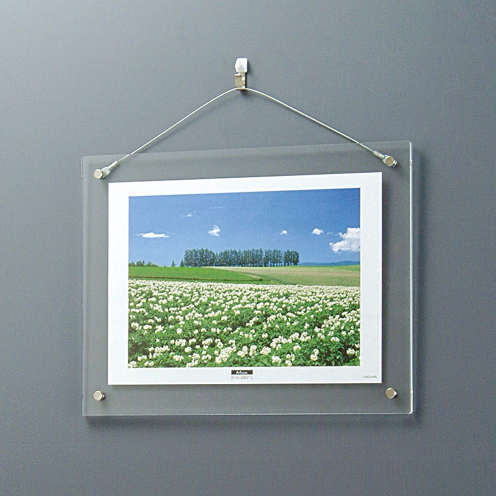 acrylic led backlit photo frame acrylic led frameless