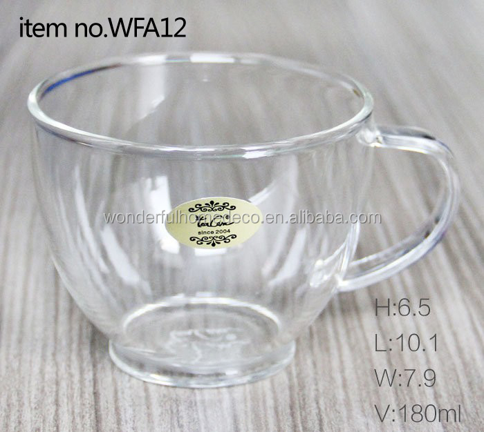 tea cup with logo/personalized photo tea cup/wide mouth tea cup