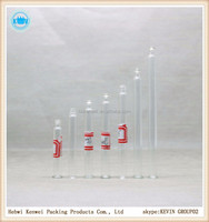 different types of pipette rubber seal aluminium cap plastic childproof cap for glass perfume bottles