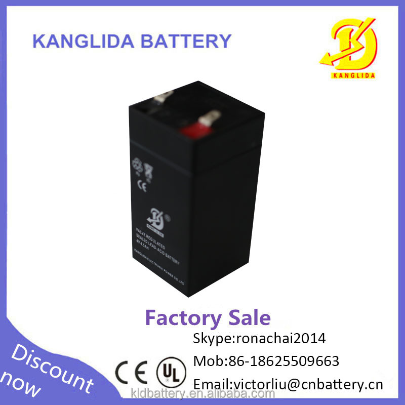 Kanglida 4v4.5ah maintenance free dry battery for ups price in Pakistan
