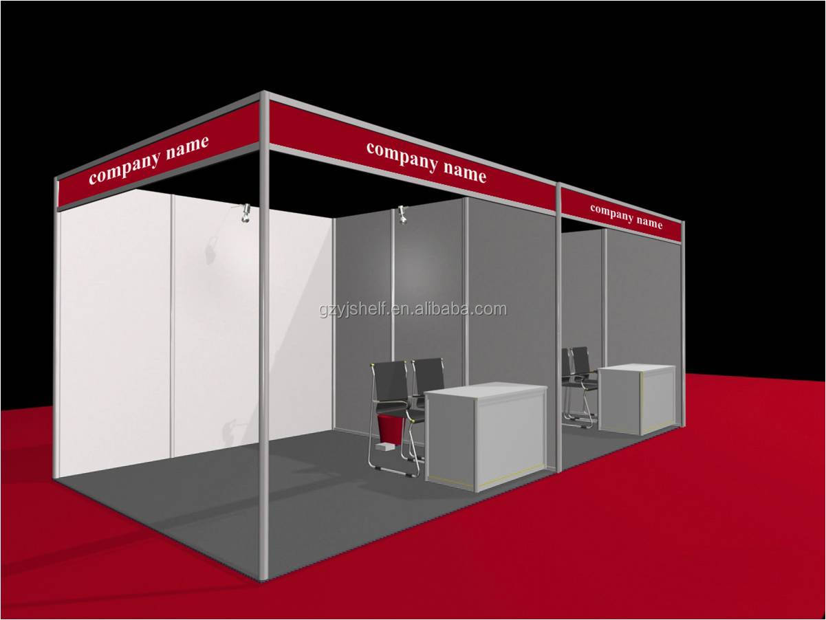 Exhibition Stall Design Octanorm : Standard aluminium booth outdoor exhibition stand
