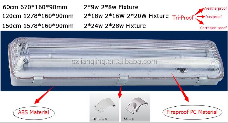 T5 Fluorescent Lighting Fixture Reflector 2 4 Foot Wholesale, Light ...