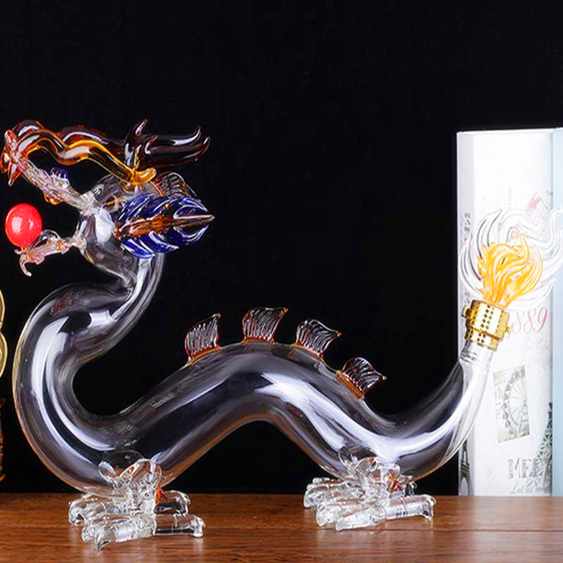 Animal Vodka Whiskey Glass Art Bottle Customize Glass