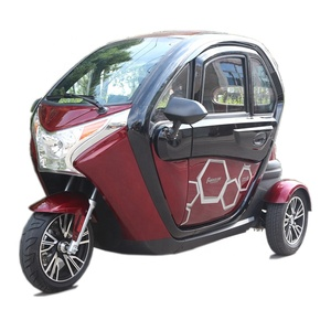 Good Reputation two seats adult tricycle 3000w three wheel electric tricycle car with EEC approval for sale