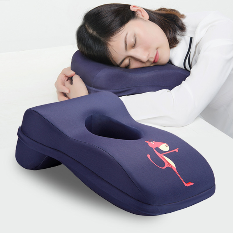 High quality polyurethane nap pillow memory foam office armrest pillow
