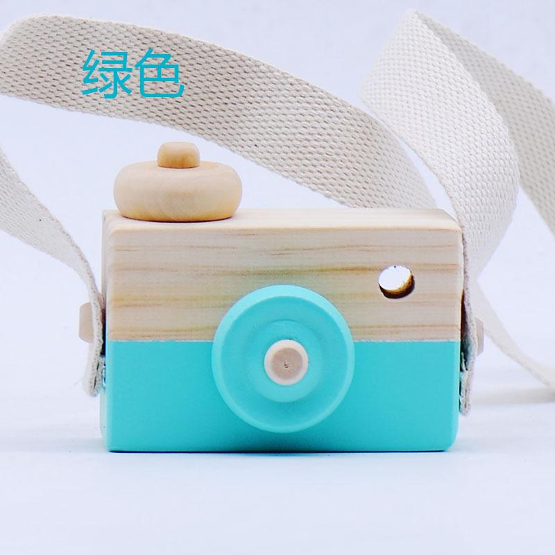 Nette Kinder Handgefertigten Holz Kamera Handwerk Foto Requisiten Kinderzimmer  Dekoration Holz Kamera Spielzeug