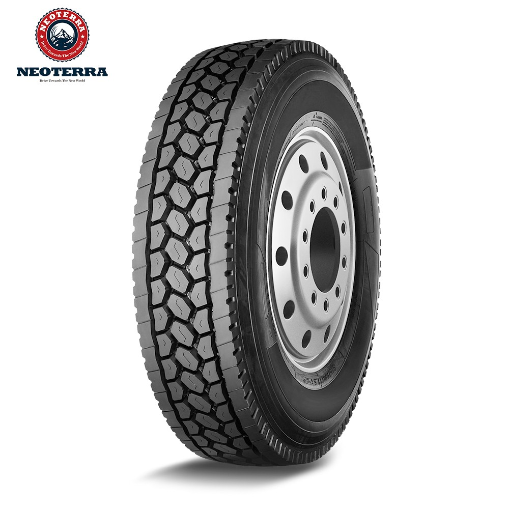 Standard 11R24.5 TBR truck tyre with SMARTWAY certificate, Drive pattern for US market,highway road test mileage 100,000miles