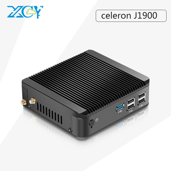 mini pc desktop computer office mini computer Celeron J1900 htpc tv box gaming pc thin client