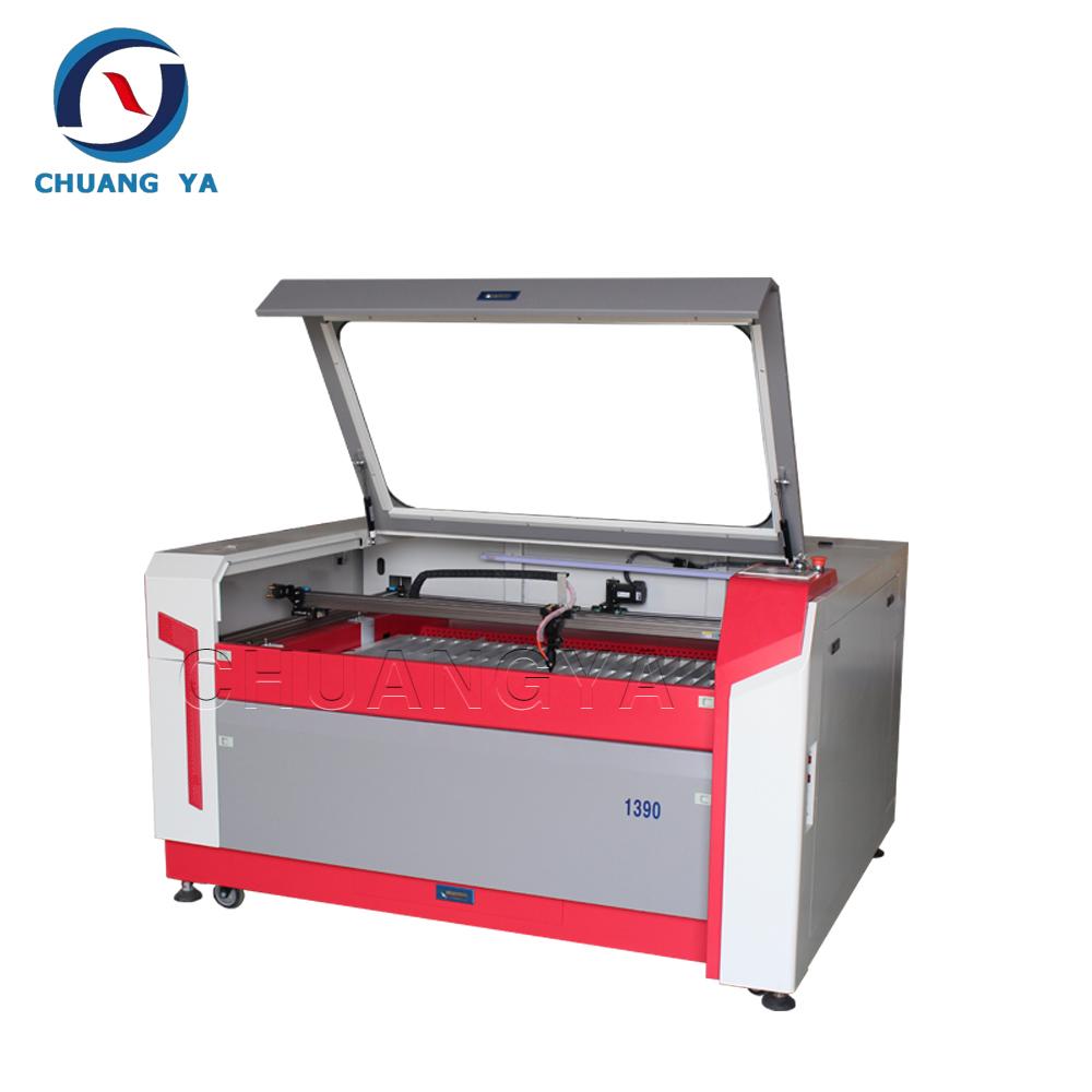 Chuang ya máquina de grabado láser para vidrio plantilla Pequeña ...