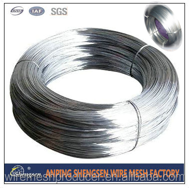 size of galvanized steel binding wire