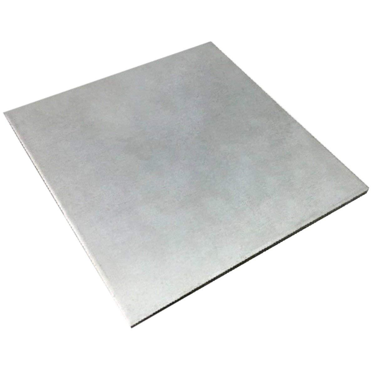 WILLAI 1pc Thin Titanium Metal Plate TC4/GR5 ASTM B54 Ti Sheet Foil with Corrosion Resistance 0.5mmx100mmx100mm