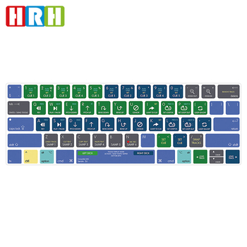 new style 7d048 83441 Ali baba Retail serato dj TPU Keyboard Covers Skin Dust Protector Cover for  macbook pro 15 13