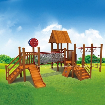 outdoor wooden slide wooden slide playground for childrens children play area equipment. Black Bedroom Furniture Sets. Home Design Ideas