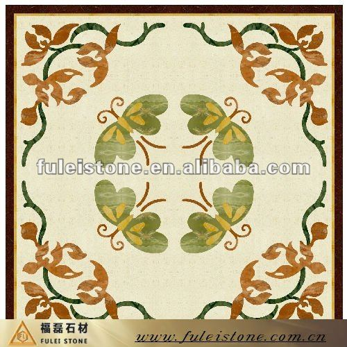 Square Marble Medallion Marble Inlay