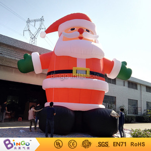 Xmas Holiday Inflatable Santa Claus, Large Commercial Christmas Decoration Inflatables
