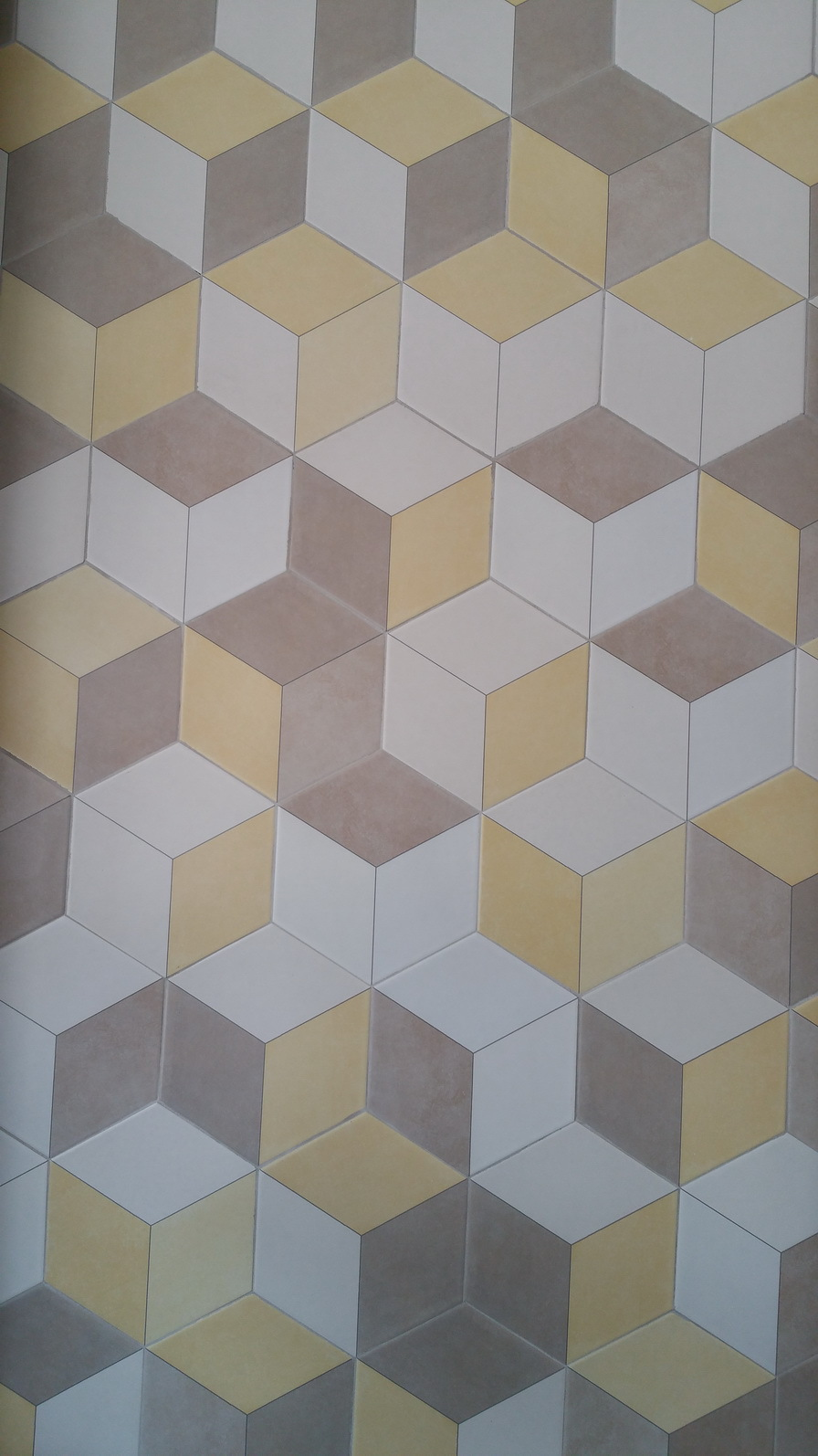 Three Dimensional Hexagon Porcelain Tile For Floor And Wall