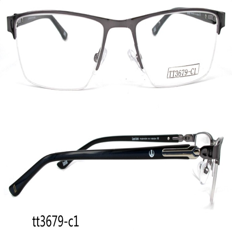 Tt3679 Business Style No Bottom Border Glasses Frames For Men - Buy ...