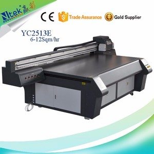 CE approved large format uv digital 3D Sticker Printer uv led printer with best factory price for sale in China