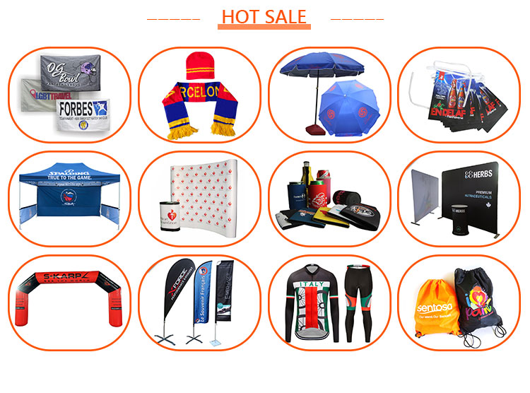 Tension Fabric Display Trade Show Square Promotion Display Counter