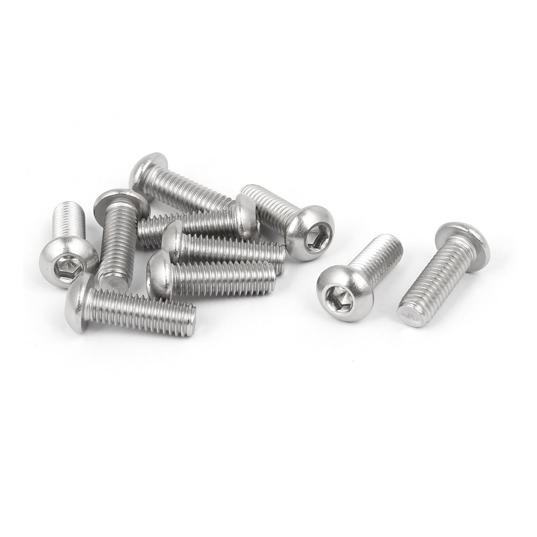 The Hillman Group 43828 M3-50 x 10 Metric Button Head Cap Screw 20-Pack