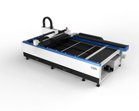 Goodlaser Laser 500w 1000w Fiber Metal Tube Laser Cutter / Stainless Steel Laser Cutting Machine