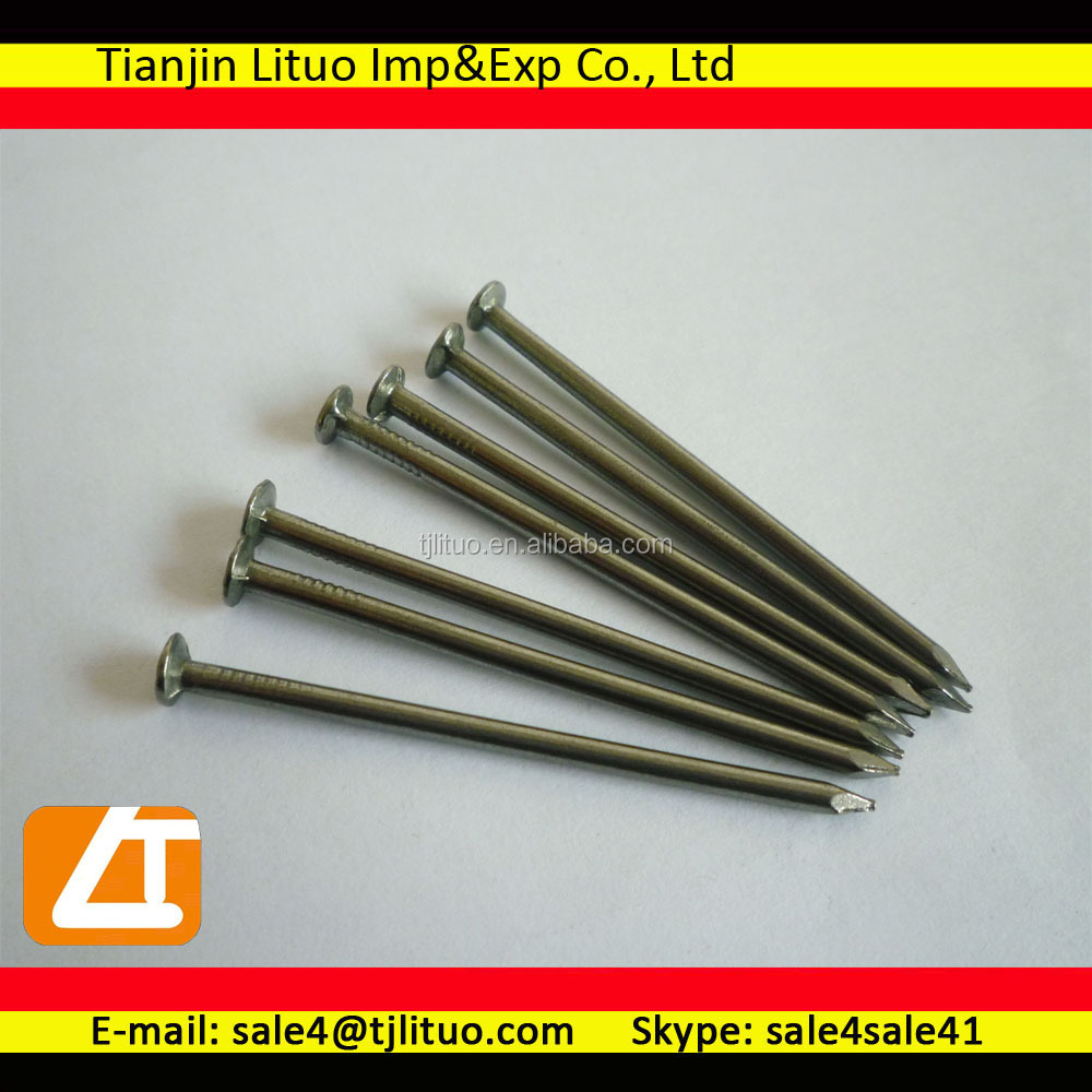 high-strength iron nail iron and steel wire bright nails common Tianjin Lituo