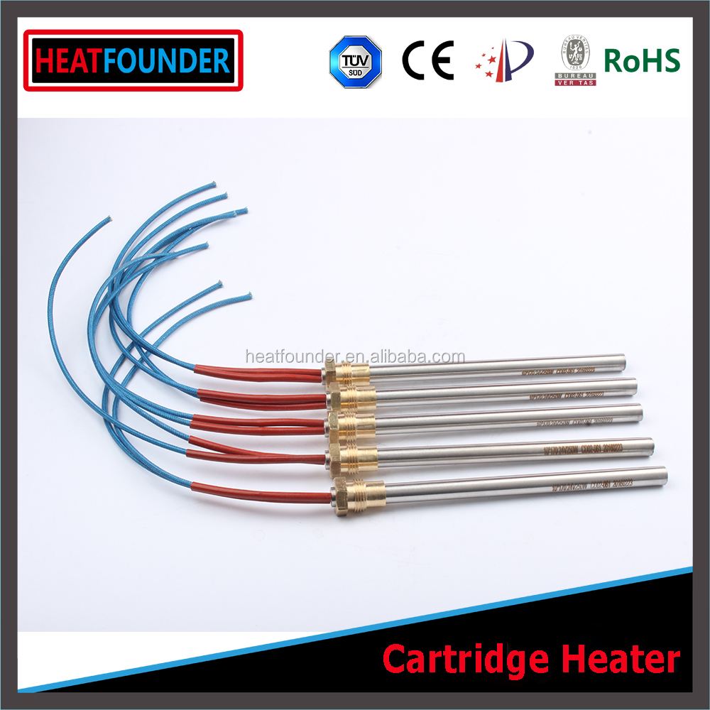 HEATFOUNDER Customize 6mm diameter 15mm length 12V cartridge heater for 3D printer