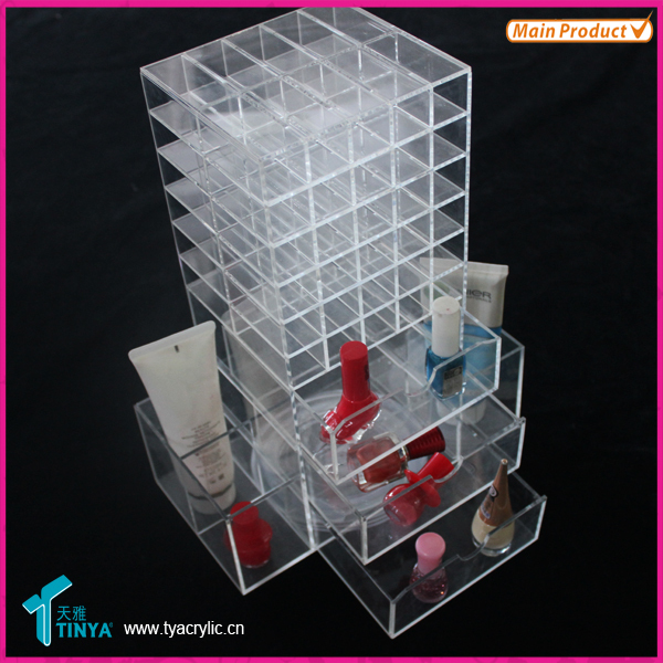 New Products Jewelry Display Tray Mac Makeup Display Case Lipstick ...