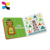 Custom children cardboard display activity board book printing