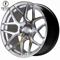 Factory price 18 19 inch alloy wheel with 5 hole PCD 100 suit for passenger car